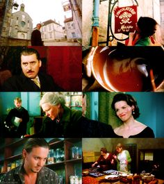 film Chocolat, Juliette Binoche,Johnny Depp, film magie der chocolade