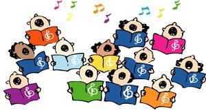 Koortje,koor, zingen, zingen maakt blij, muziek
