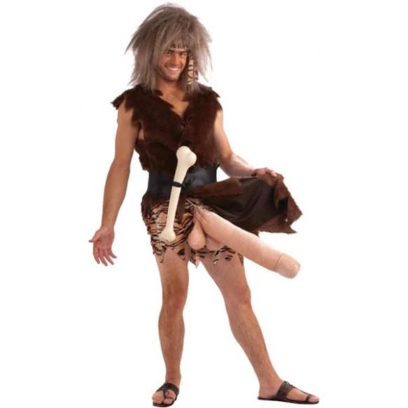 homo erectus, grote piemel, enorme pik