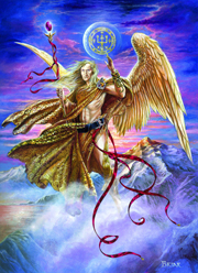 boodschapper van God, Aartsengelen, Michaël, Gabriël, Rafaël en Uriël.,Djibriel