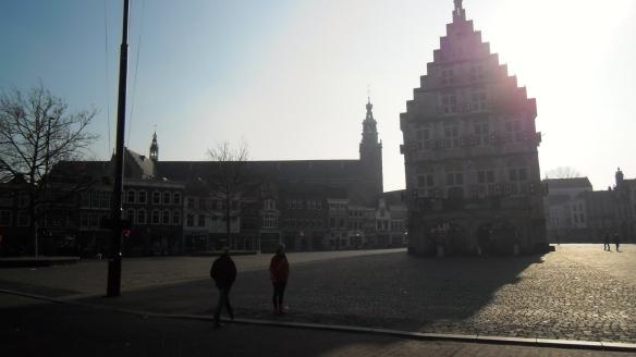 stadhuis van Gouda, gotisch bouwwerk, St JAN