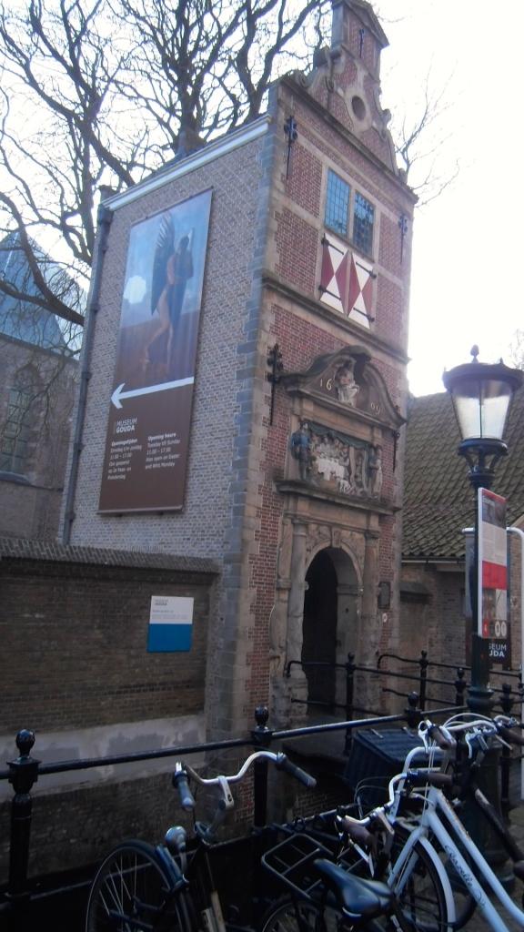 poorthuisje bij museum Gouda