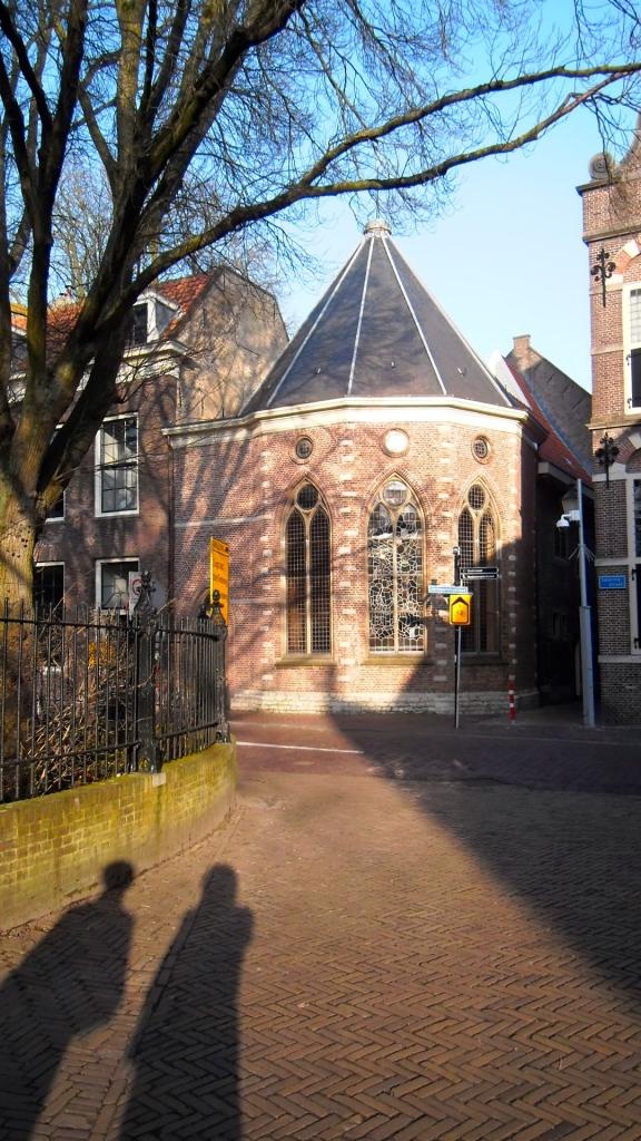 achterkant St Jan, Gouda,