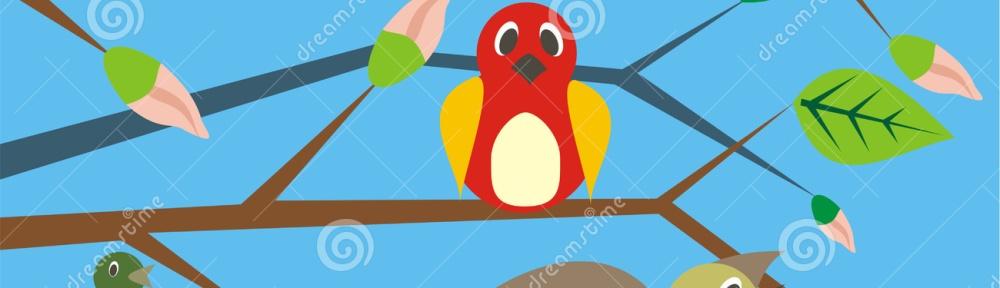 vogels zingen, zingen maakt blij
