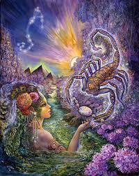 astrologie, schorpioen,sterrenbeelden, tekens van de dierenriem