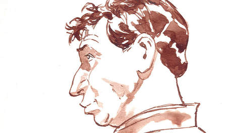 WILLEM HOLLEEDER, crimineel, college tour, karikatuur