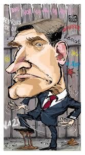 Sybrand van Haersma Buma, cartoon, rare bek