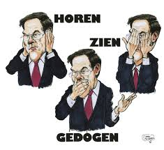 Marc Rutte, cartoon