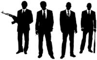 MAFFIA, MOB, gangsters, geweren, pistolen, geweld, maffiafamilie, godfather, don,, structuur van maffia familie