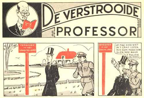 De verstrooide professor