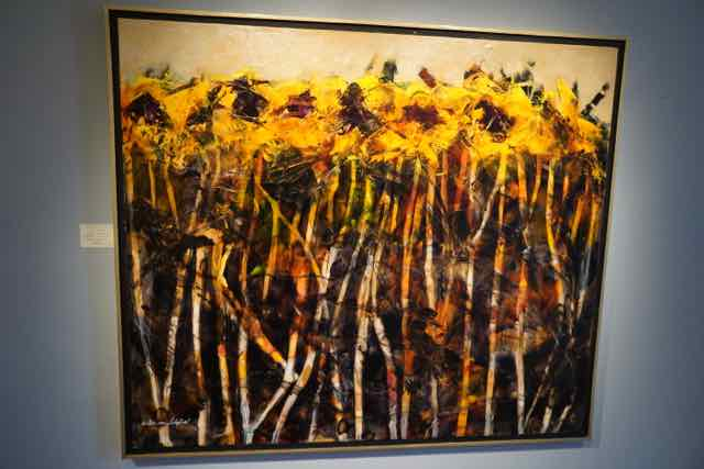 Betere Prachtige expositie van de nieuwe schilderijen van Willem van PM-45