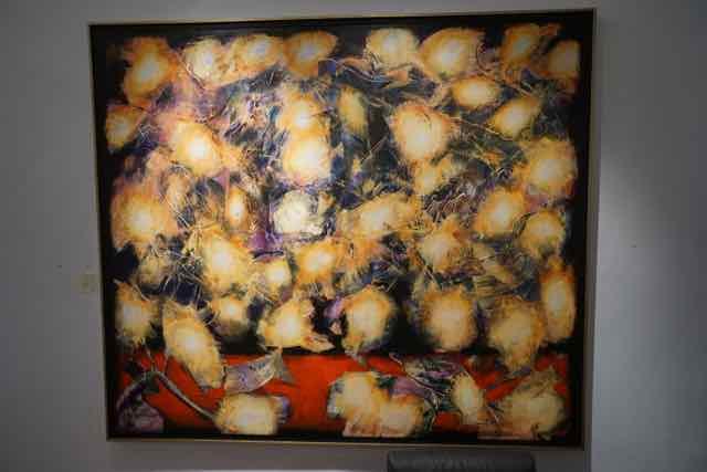 Verrassend Prachtige expositie van de nieuwe schilderijen van Willem van UV-65