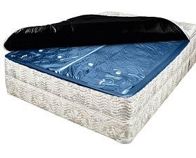 waterbedden, GRAPPEN, TECHNIEK RONDOM, SLAPEN IN, BED VOL WATER,