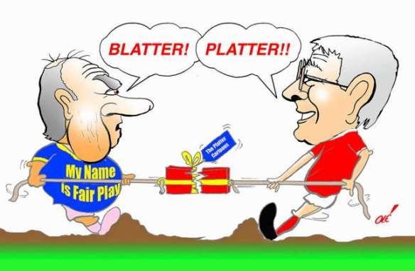 BLATTER-PLATTER