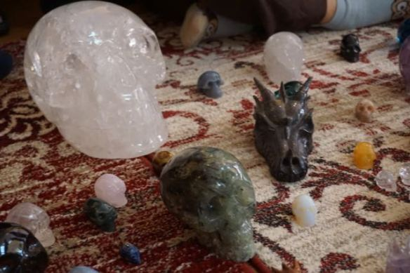 kristallen schedels. cristal skulls,