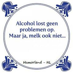 grappen over alcohol, lachen om