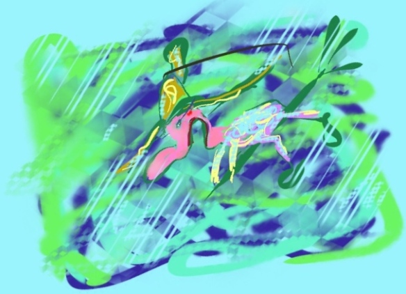 VALLENDE HEKSJES, HEKS OP BEZEMSTEEL,  © Toverheks.com,