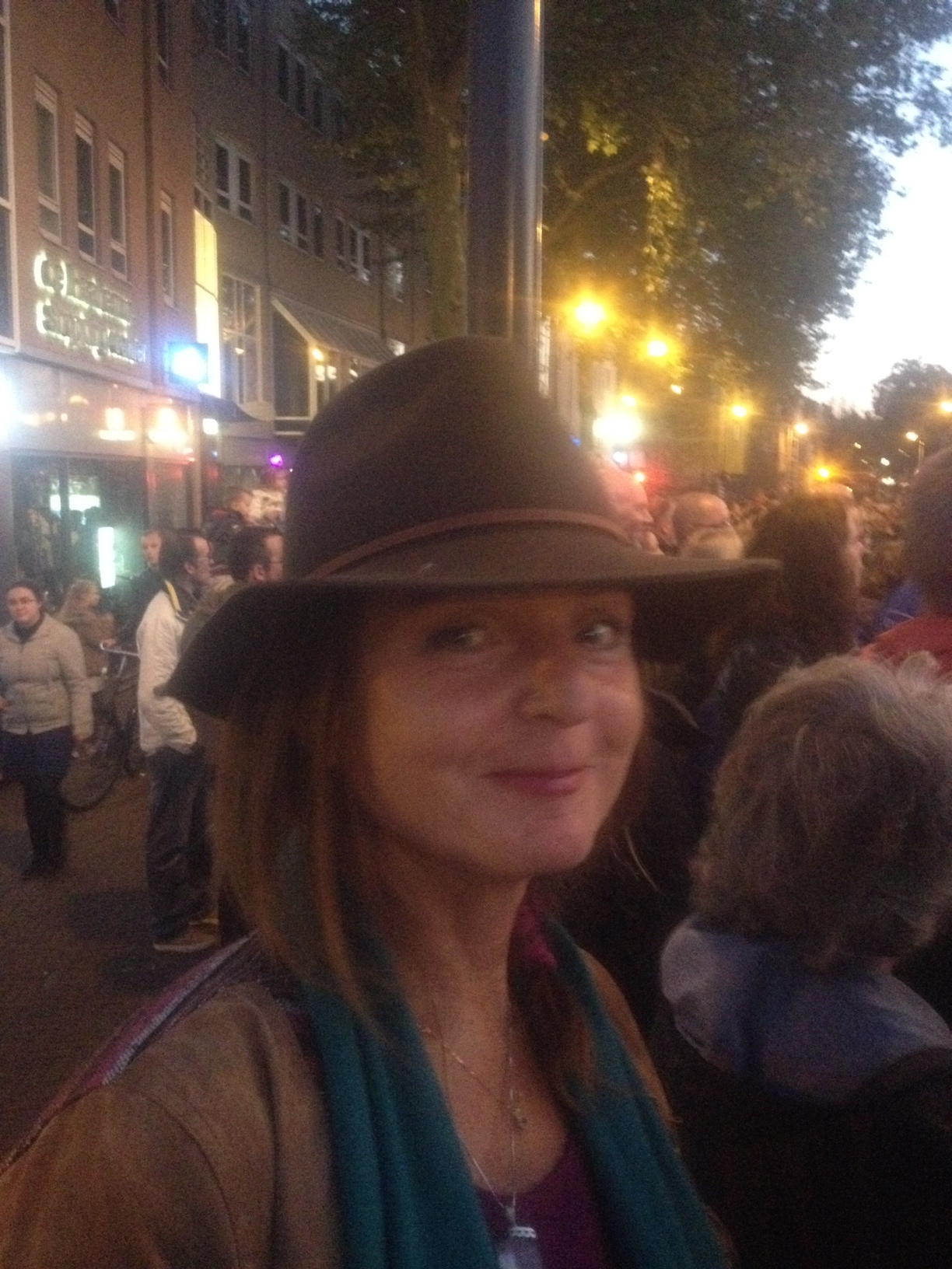 cowgirl, feest, drie oktober, vrouw met hoed,