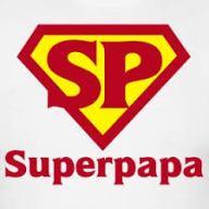 papa, superpapa, held, stoerste papa