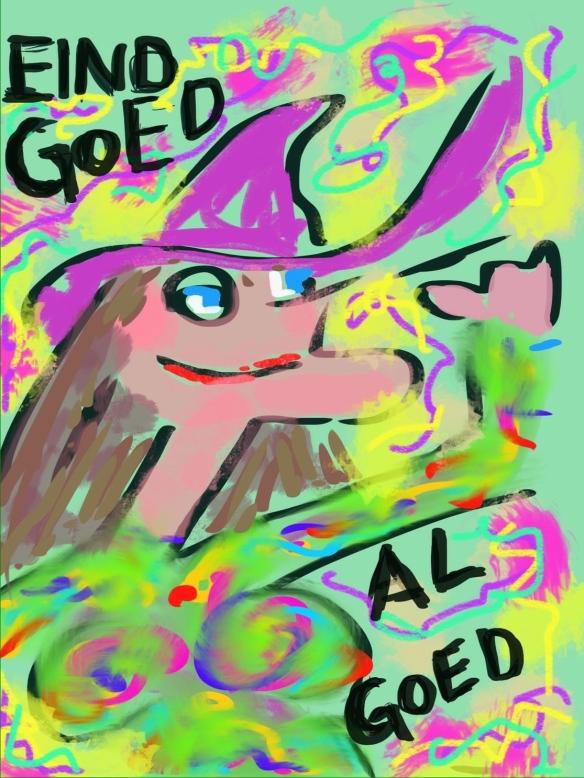 © Toverheks.com, eind goed al goed, heks, goede heks