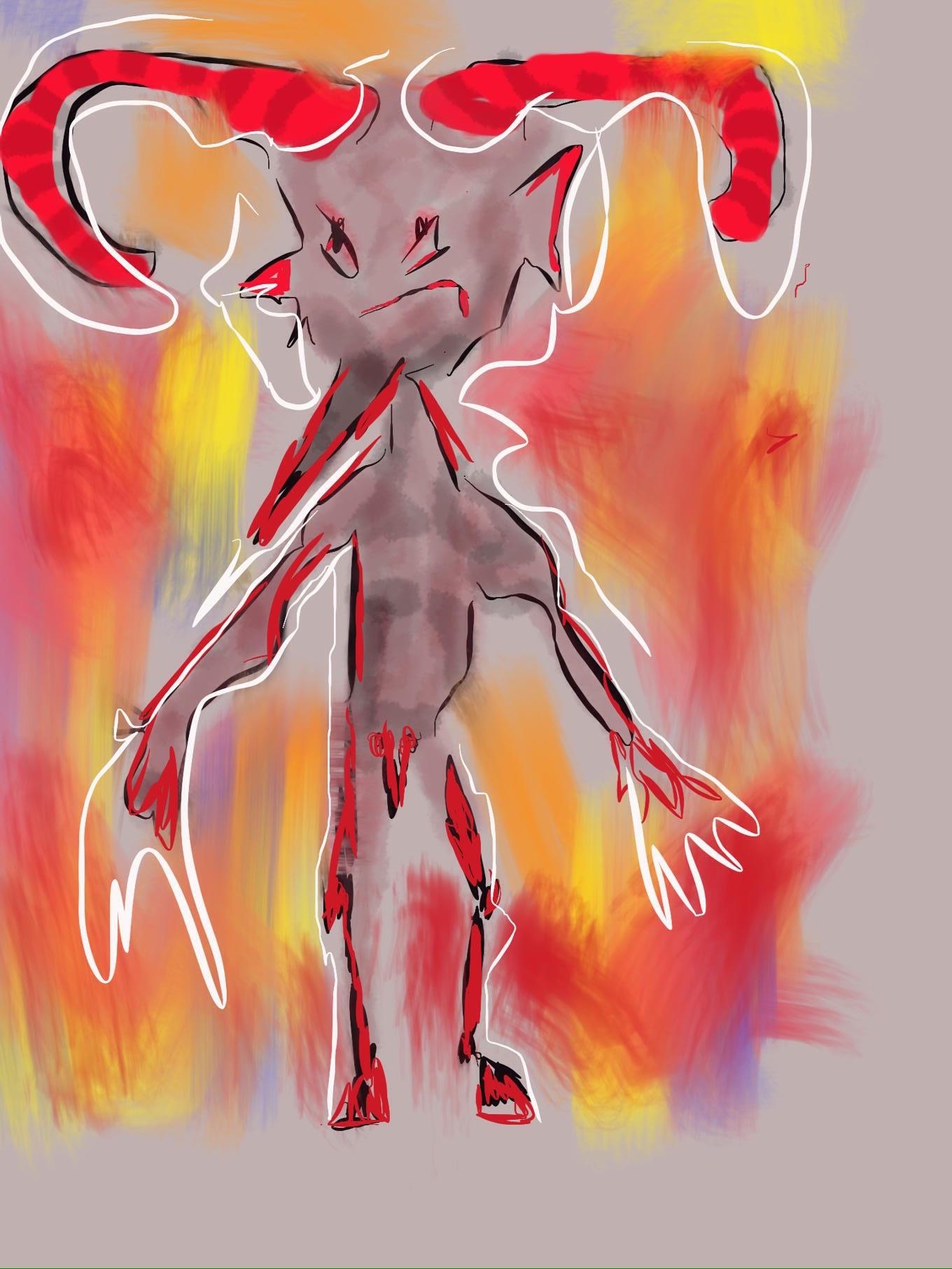 © Toverheks.com, duiveltje, haat, goede, boosheid, boze duvel, kwaad, het kwaad, duisternis, slecht
