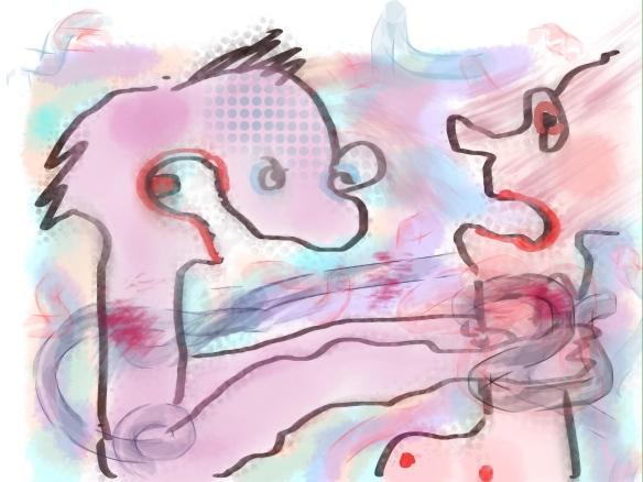 © Toverheks.com, woedende mensen, wurgen, iemand vermoorden, haat, ruzie, onmacht