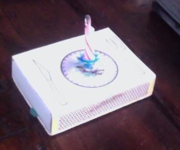 verjaardagsfeest in een luciferdoosje