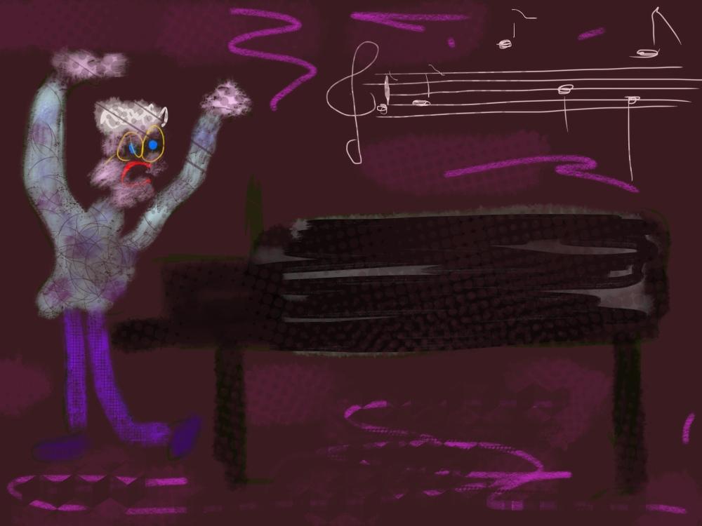 pianist, dirigent, vleugel, muziek piano, dirigeren