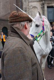 buurman aait het paard