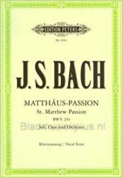 matthaus passion,  handtekening johann sebastian bach