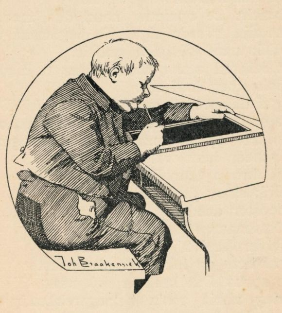 tekening van Joh. Braakensiek