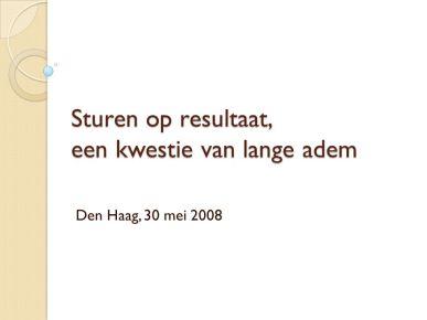 Den Haag, 30 mei 2008.